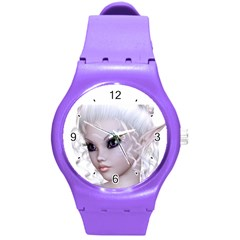 Fairy Elfin Elf Nymph Faerie Plastic Sport Watch (medium) by goldenjackal