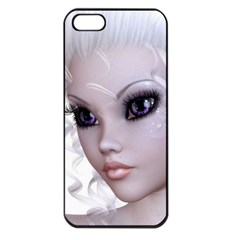 Faerie Nymph Fairy Apple Iphone 5 Seamless Case (black) by goldenjackal