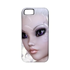 Faerie Nymph Fairy Apple Iphone 5 Classic Hardshell Case (pc+silicone) by goldenjackal