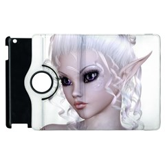 Faerie Nymph Fairy Apple Ipad 2 Flip 360 Case by goldenjackal