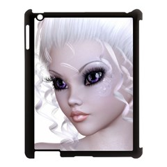 Faerie Nymph Fairy Apple Ipad 3/4 Case (black) by goldenjackal
