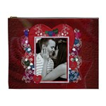 Valentine Love XL Cosmetic Bag - Cosmetic Bag (XL)