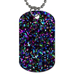 Glitter 1 Dog Tag (two Sided)  by MedusArt