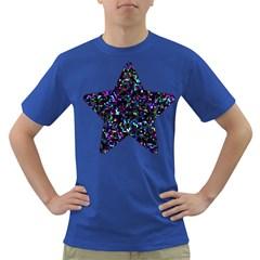 Glitter 1 Men s T Shirt (colored) by MedusArt