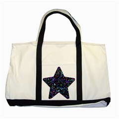 Glitter 1 Two Toned Tote Bag by MedusArt