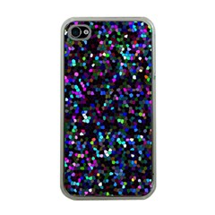 Glitter 1 Apple Iphone 4 Case (clear) by MedusArt