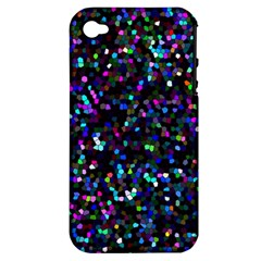 Glitter 1 Apple Iphone 4/4s Hardshell Case (pc+silicone) by MedusArt