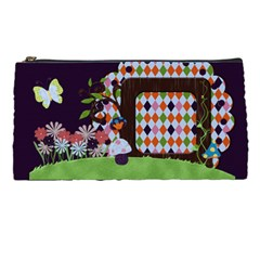 Wonderland Pencil Case By Cherish Collages   Pencil Case   Ttkdama673xw   Www Artscow Com Front