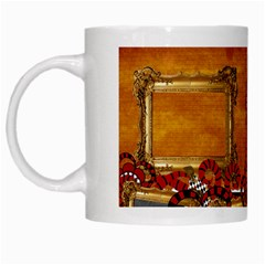 Queen Mug By Cherish Collages   White Mug   Gp0hzcoihoe5   Www Artscow Com Left
