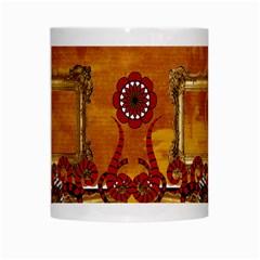 Queen Mug By Cherish Collages   White Mug   Gp0hzcoihoe5   Www Artscow Com Center