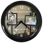 rodclock - Wall Clock (Black)