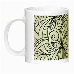 Drawing Floral Doodle 1 Glow In The Dark Mug by MedusArt