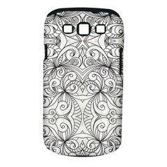 Drawing Floral Doodle 1 Samsung Galaxy S Iii Classic Hardshell Case (pc+silicone) by MedusArt