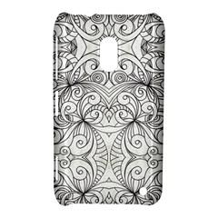 Drawing Floral Doodle 1 Nokia Lumia 620 Hardshell Case