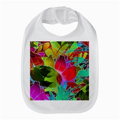 Floral Abstract 1 Bib by MedusArt