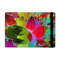 Floral Abstract 1 Apple Ipad Mini Flip Case by MedusArt