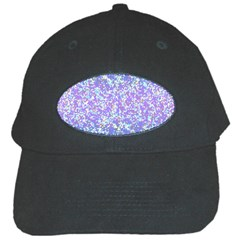 Glitter2 Black Baseball Cap by MedusArt