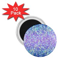 Glitter2 1 75  Button Magnet (10 Pack) by MedusArt