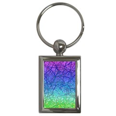 Grunge Art Abstract G57 Key Chain (rectangle) by MedusArt