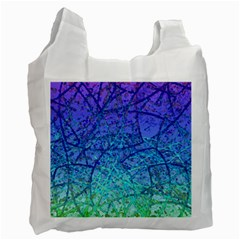 Grunge Art Abstract G57 Recycle Bag (Two Side) by MedusArt