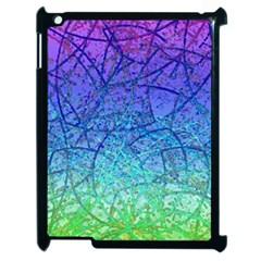 Grunge Art Abstract G57 Apple iPad 2 Case (Black)
