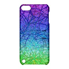 Grunge Art Abstract G57 Apple iPod Touch 5 Hardshell Case with Stand by MedusArt
