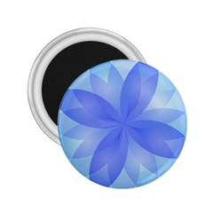 Abstract Lotus Flower 1 2 25  Button Magnet by MedusArt