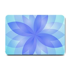 Abstract Lotus Flower 1 Small Door Mat by MedusArt