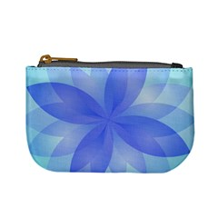 Abstract Lotus Flower 1 Coin Change Purse by MedusArt