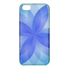 Abstract Lotus Flower 1 Apple Iphone 5c Hardshell Case by MedusArt