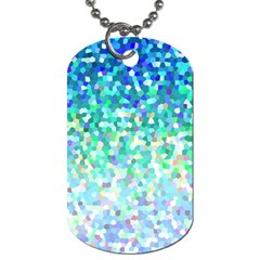 Mosaic Sparkley 1 Dog Tag (one Sided) by MedusArt