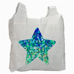 Mosaic Sparkley 1 Recycle Bag (one Side) by MedusArt