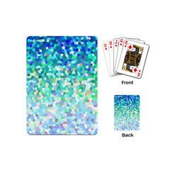 Mosaic Sparkley 1 Playing Cards (mini) by MedusArt