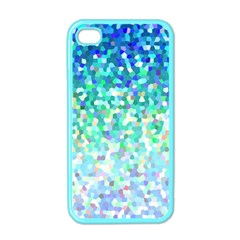 Mosaic Sparkley 1 Apple Iphone 4 Case (color) by MedusArt