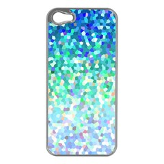 Mosaic Sparkley 1 Apple Iphone 5 Case (silver) by MedusArt