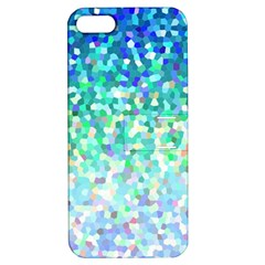 Mosaic Sparkley 1 Apple Iphone 5 Hardshell Case With Stand by MedusArt