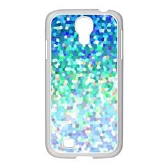 Mosaic Sparkley 1 Samsung Galaxy S4 I9500/ I9505 Case (white) by MedusArt