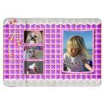 Pink Frill Samsung Galaxy 8.9  P7300 Flip Case - Samsung Galaxy Tab 8.9  P7300 Flip Case