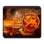 King s Forge - Lion - Large Mousepad