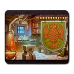 King s Forge - Owl - Large Mousepad