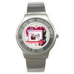 love - Stainless Steel Watch