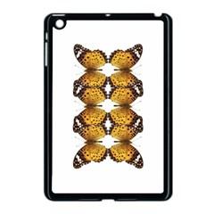 Butterfly Art Tan&black Apple Ipad Mini Case (black) by BrilliantArtDesigns