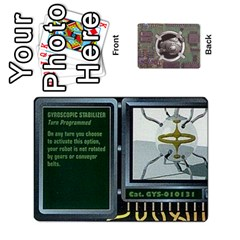Roborally By Chrystal Dreameraceher Mccullar   Playing Cards 54 Designs   Yvpe35garqyj   Www Artscow Com Front - Heart4