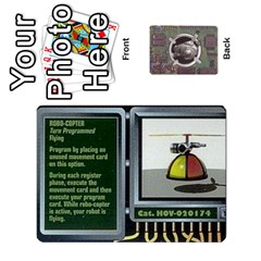 Roborally By Chrystal Dreameraceher Mccullar   Playing Cards 54 Designs   Yvpe35garqyj   Www Artscow Com Front - Diamond2