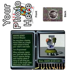 Roborally By Chrystal Dreameraceher Mccullar   Playing Cards 54 Designs   Yvpe35garqyj   Www Artscow Com Front - Diamond5
