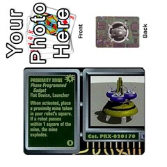 Roborally By Chrystal Dreameraceher Mccullar   Playing Cards 54 Designs   Yvpe35garqyj   Www Artscow Com Front - Diamond7