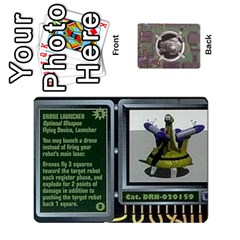 Roborally By Chrystal Dreameraceher Mccullar   Playing Cards 54 Designs   Yvpe35garqyj   Www Artscow Com Front - Diamond8