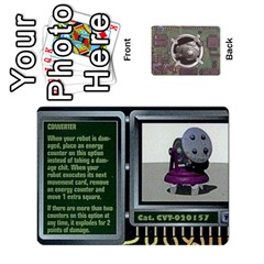 Roborally By Chrystal Dreameraceher Mccullar   Playing Cards 54 Designs   Yvpe35garqyj   Www Artscow Com Front - Club2