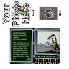 Roborally By Chrystal Dreameraceher Mccullar   Playing Cards 54 Designs   Yvpe35garqyj   Www Artscow Com Front - Club6