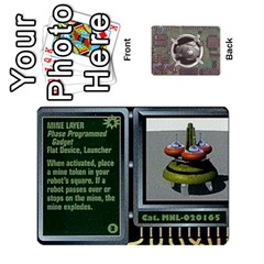 Roborally By Chrystal Dreameraceher Mccullar   Playing Cards 54 Designs   Yvpe35garqyj   Www Artscow Com Front - Club7